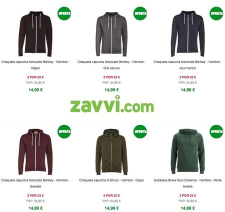 Ofertas Zavvi: 2 sudaderas Advocate, Brave Soul o D-Struct por sólo 23 euros