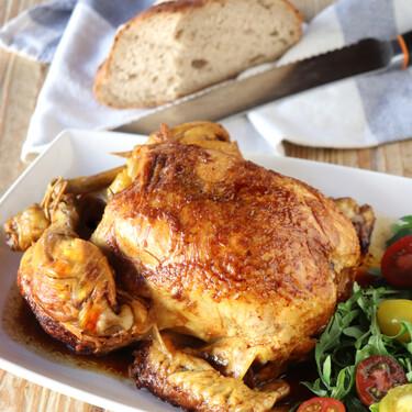 Cómo hacer pollo asado en olla exprés, la receta más rápida (y más limpia) para asar sin encender el horno