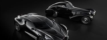 El misterio sin resolver del Bugatti Type 57 Atlantic 'La Voiture Noire', inspiración para la bestia de Ginebra