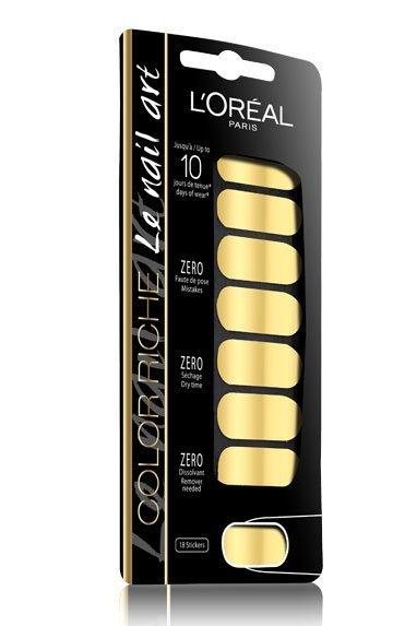 L'Oréal se lanza al nail art con nuevas pegatinas de efecto 3D
