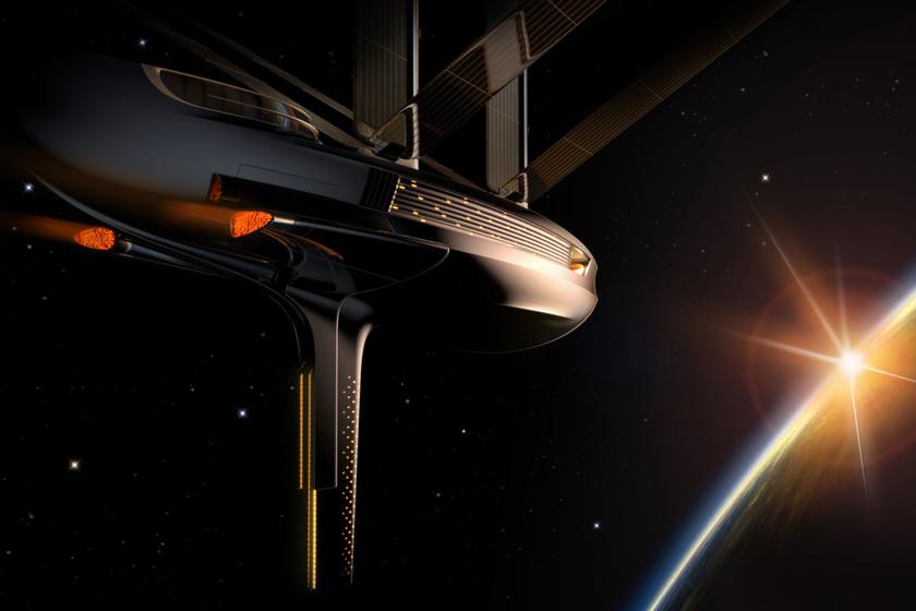 'GalaXsea', el loquísimo proyecto que propone construir el primer velero espacial solar impreso en 3D en el mismo espacio