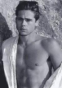 Brad Pitt de joven