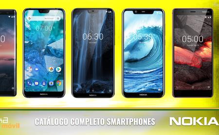 Nokia 7.1, así encaja dentro del catálogo completo de móviles Nokia en 2018