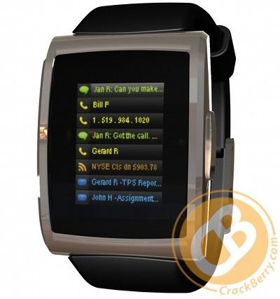 inPulse, un reloj para complementar a la BlackBerry