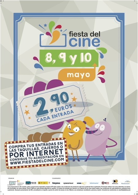 Poster Fiesta Del Cine 2017 Mayo