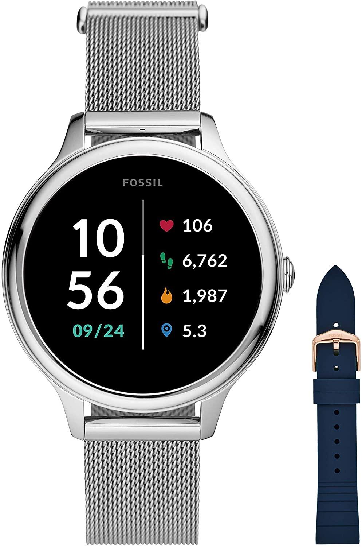 Fossil Connected Smartwatch Gen 5E para Mujer con tecnología Wear OS de Google, frecuencia cardíaca, NFC y notificaciones smartwatch