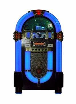 Dock para el iPod en forma de jukebox