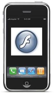 Adobe prepara una versión móvil de Flash para el iPhone