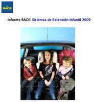 Informe de sistemas de retención infantil 2009