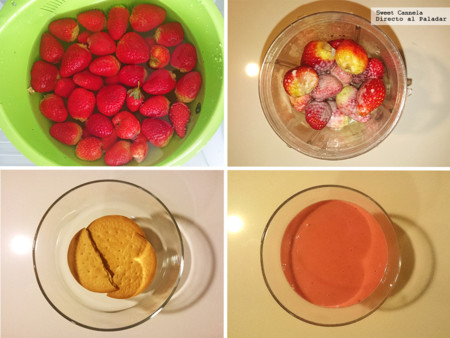 Preparacion Dulce Fresa