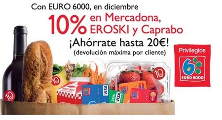 Descuento del 10% al pagar con Euro 6000 en diciembre