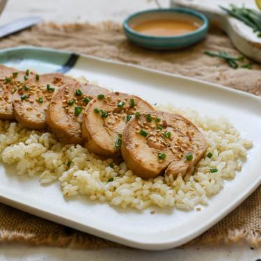 Pechuga de pollo con soja, miel y limón, la receta que te demostrará que la pechuga de pollo también puede quedar jugosa y sabrosa