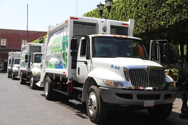 En Guanajuato se monitoreará la recolección de basura con ayuda de GPS en los camiones