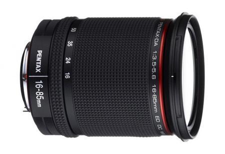 HD Pentax-DA 16-85 mm f/3.5-5.6 ED DC WR, objetivo de alto rendimiento para monturas Pentax K