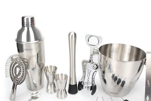 Los utensilios básicos para un bar en casa