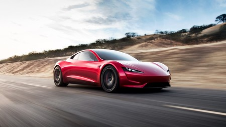 Tesla Roadster Frontal