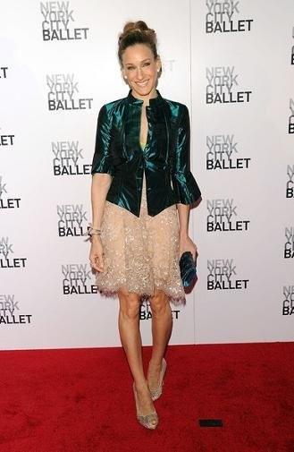 El desbordante glamour de Sarah Jessica Parker y Natalie Portman en el ballet