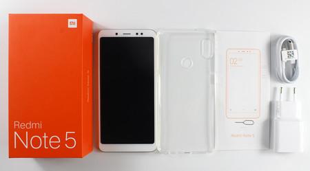 Xiaomi Redmi Note 5, en versión global con 4GB de RAM y 64GB  de capacidad, por 174 euros
