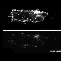 """La brutal devastación de Puerto Rico tras el paso del huracán """"María"""", vista desde el aire"""