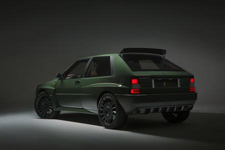 Lancia Delta Futurista lateral trasera