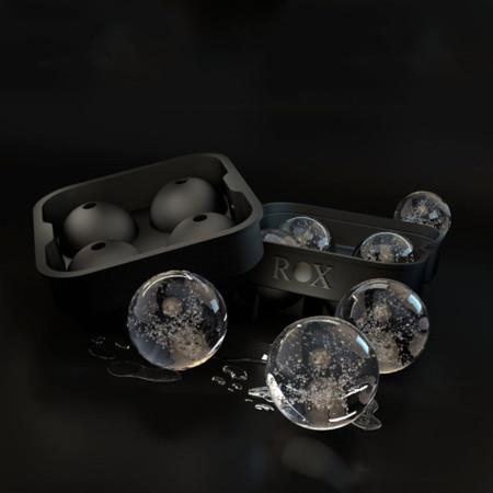 Charola para hielos en esfera