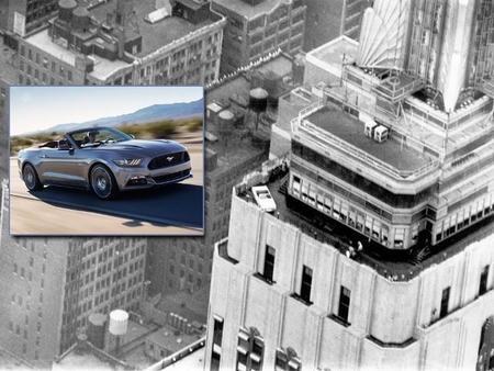 Ford Mustang regresará al mirador del Empire State 50 años después