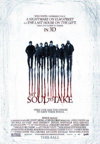 'My Soul to Take' de Wes Craven, cartel y tráiler
