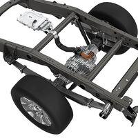 Retrofit para furgonetas y pickups: Magna presenta un eje trasero con motor eléctrico integrado
