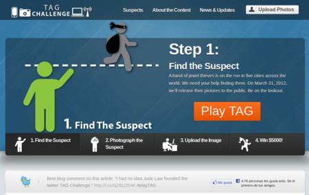 Tag Challenge, a la caza y captura del fugitivo en Twitter
