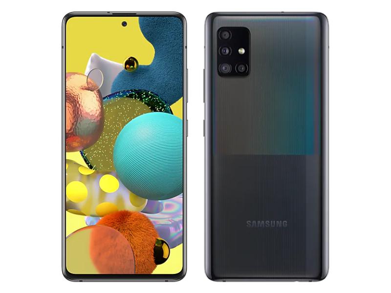 Samsung Galaxy A51 5G 6,5'' 128GB Negro