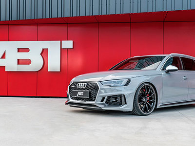 Audi RS4 ABT: 510 CV para toda la familia