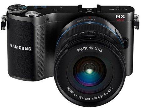 Samsung NX200 también se gusta pequeña
