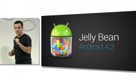 Google anuncia Android 4.3
