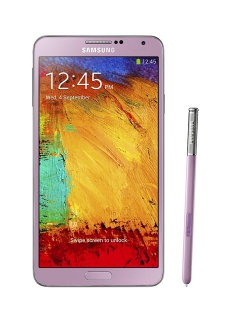Samsung Galaxy Note 3 Blush Pink