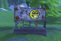 Desafío Fortnite: visita vallas publicitarias cubiertas de grafitis en una misma partida. Solución