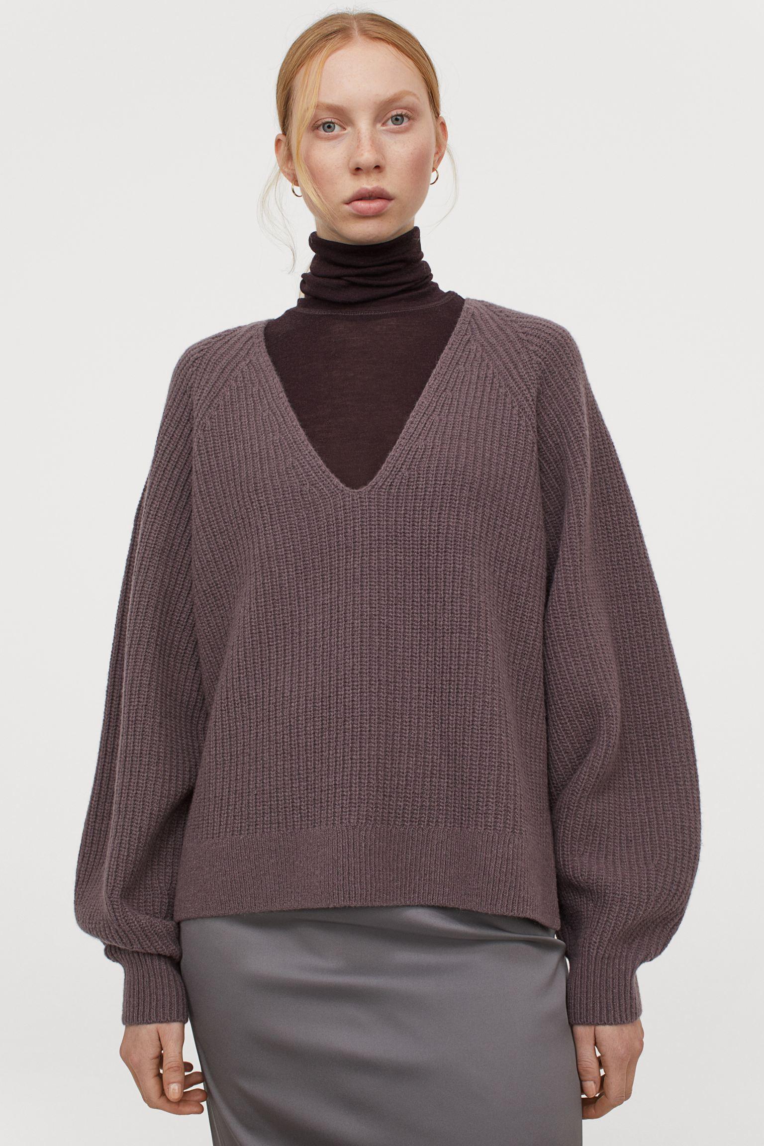 Jersey en canalé de lana