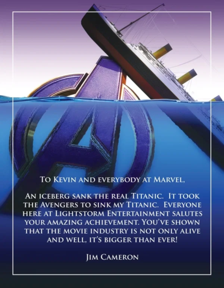 Avengers > Titanic