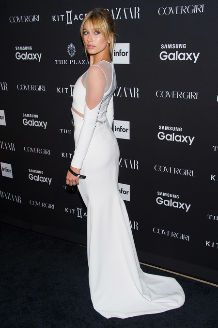 hailey baldwin vestido novia