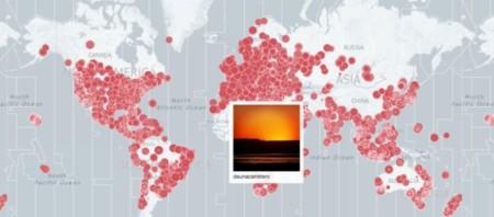 Todos los atardeceres y amaneceres del mundo gracias a este mapa