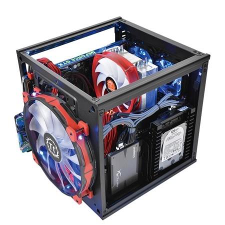 Thermaltake brinda grandes opciones de enfriamiento en mini gabinete Suppressor F1