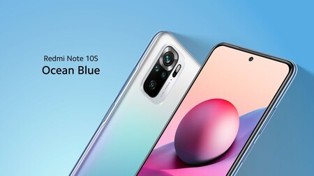 Xiaomi Redmi Note 10s Oficial Color Azul Oceano