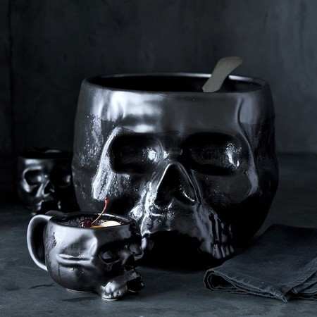 Halloween Skull Punch Bowl 1 O