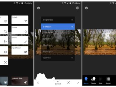 Snapseed 2.0 llega a la Google Play con nuevo icono e interfaz rediseñados