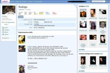 Nuevo diseño de Orkut