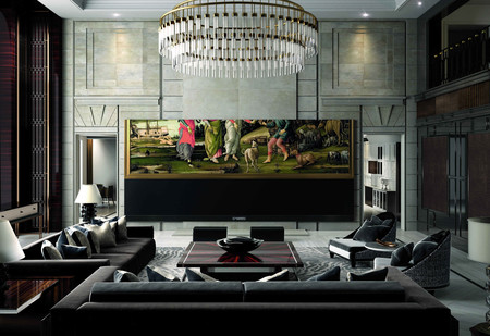 ¿Tu televisor te parece pequeño? Prueba a meter en casa este modelo con 262 pulgadas