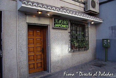 Restaurante Naomi, cocina japonesa en Madrid