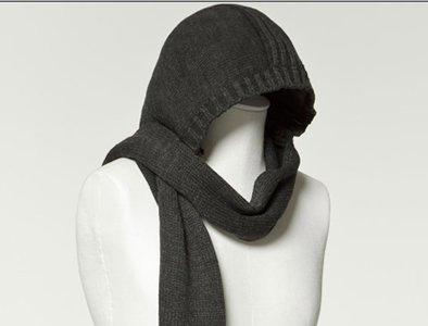 bufandas con capucha una opcin desenfadada para abrigarse