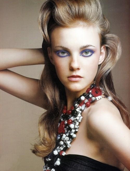 Caroline Trentini, la niña se hizo modelo