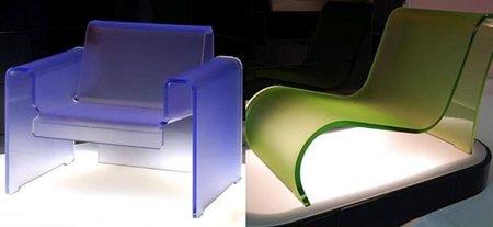 asientos metacrilato colores