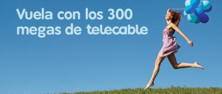 telecable también responde a las subidas de velocidad con sus 300 megas